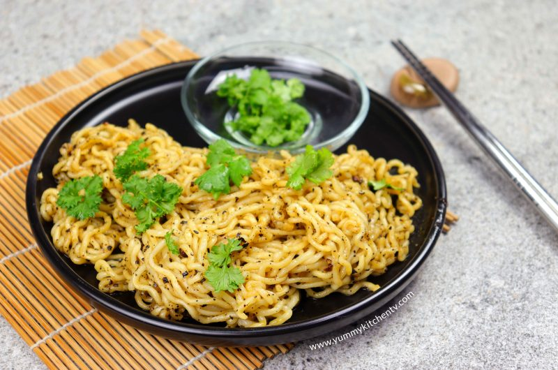 5 Minute Chili Oil Noodles