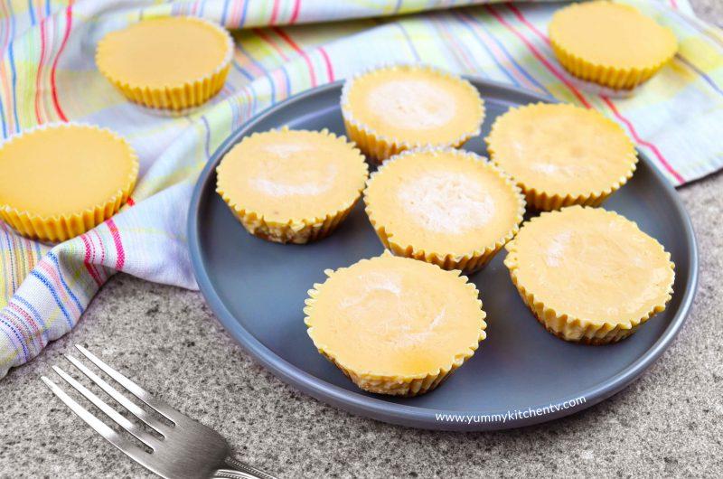 Graham Leche Flan Cupcakes