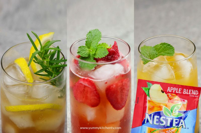 Simple Summer Drinks (using Nestea iced tea)