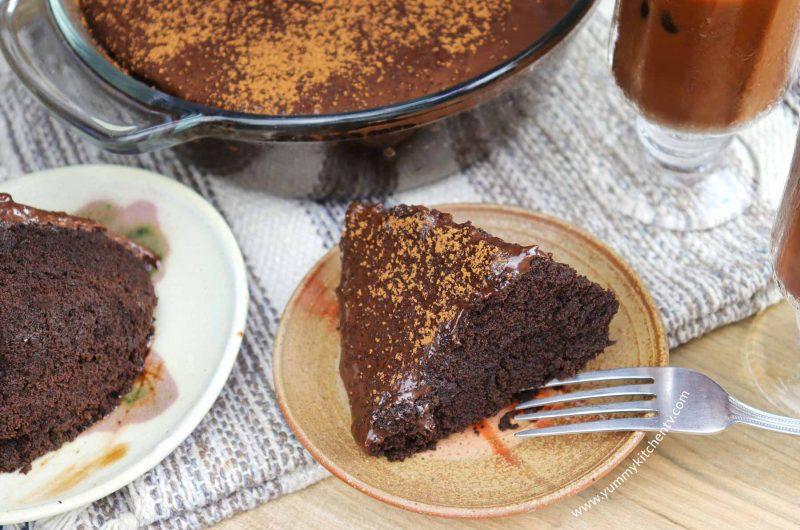 5-minutes Microwave Chocolate Cake