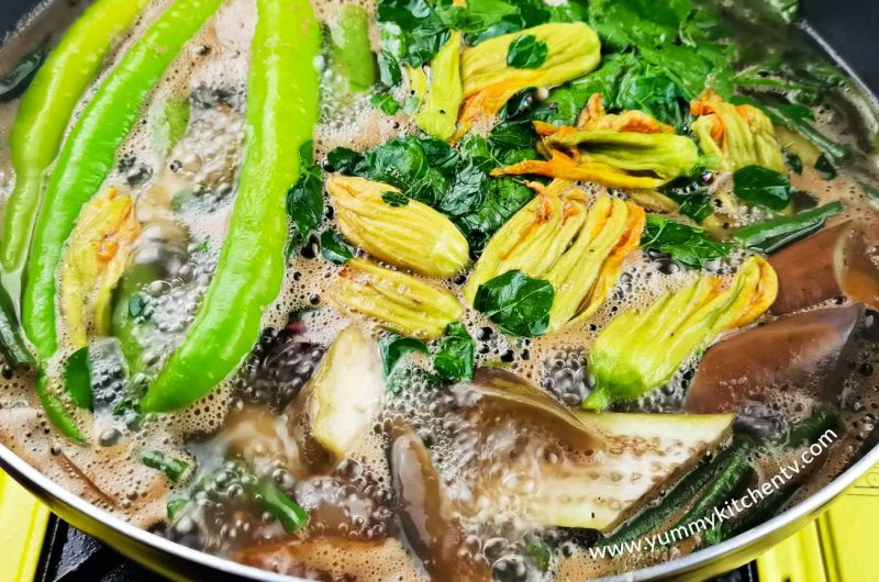 Dinengdeng with Fried Tilapia