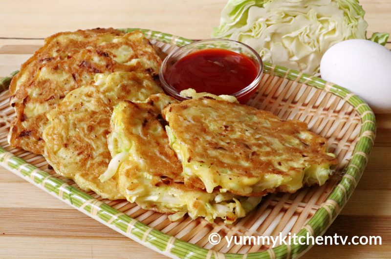 Cabbage Omelette (Tortang Repolyo)