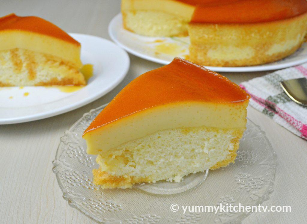 Steamed Custard Cake