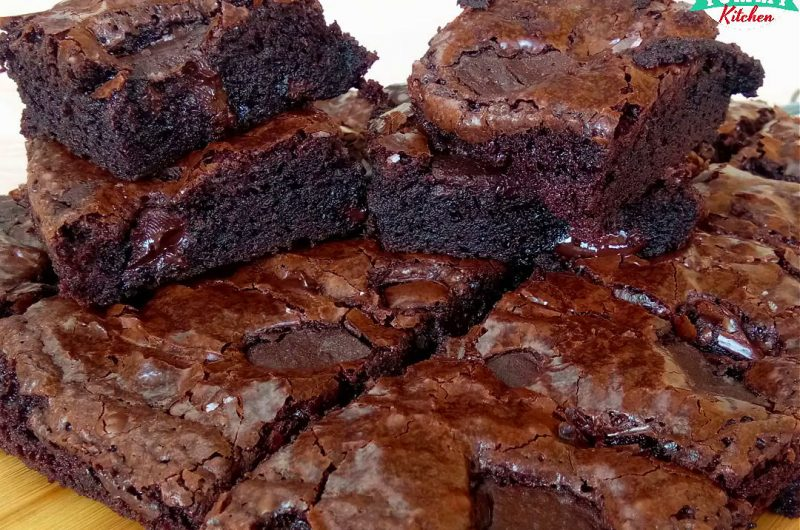 Chewy Fudge Brownies