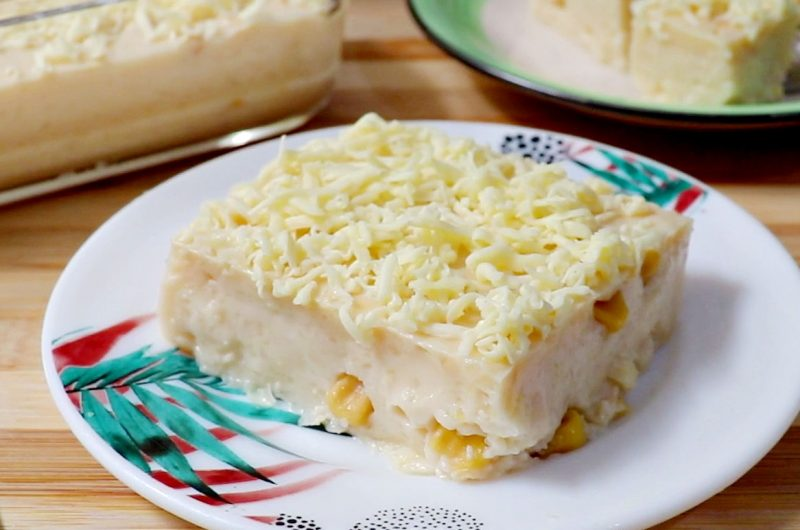 Maja Blanca without Coconut Milk