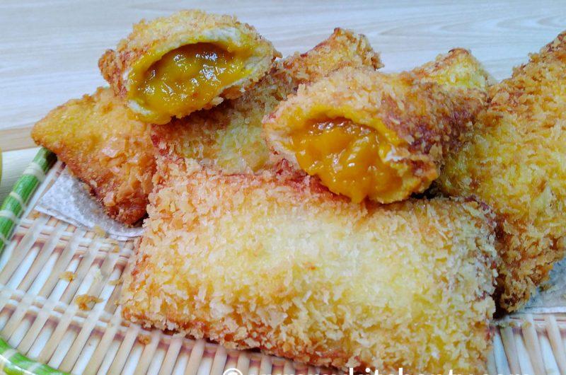 Mango Bread Pie