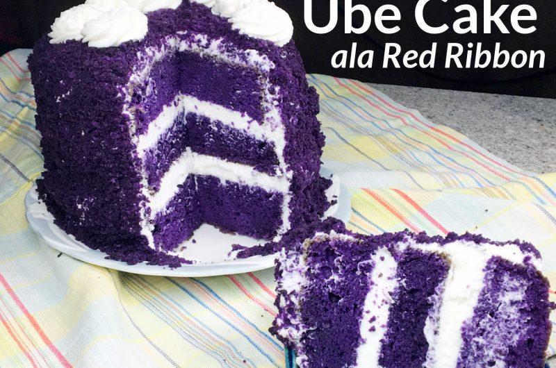 Ube Cake ala Red Ribbon