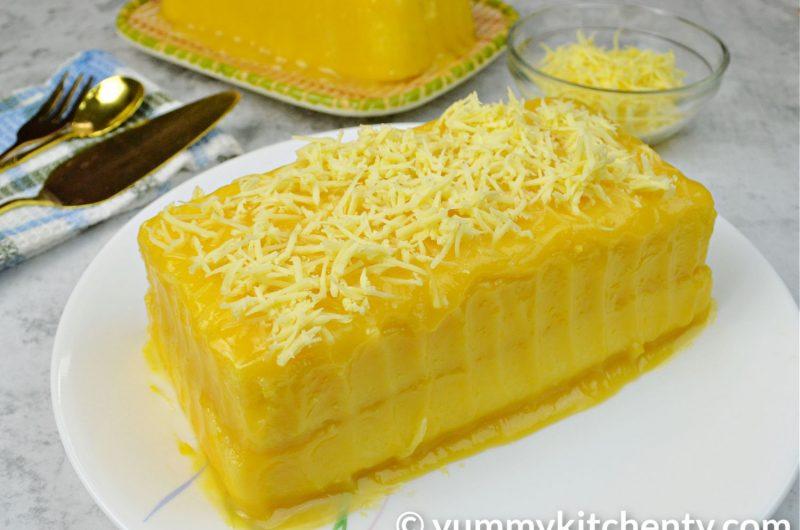 Yema Cake (No-Oven)