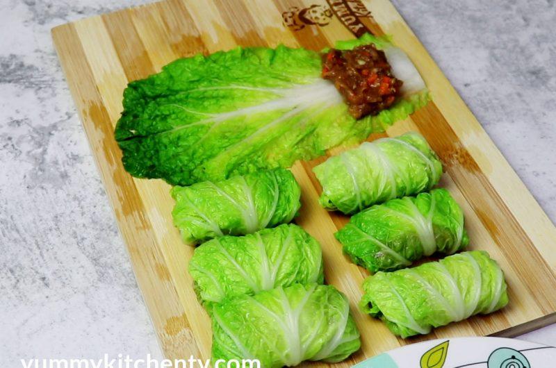 Chicken Cabbage Rolls
