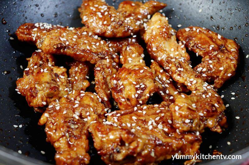 Honey Butter Chicken Wings