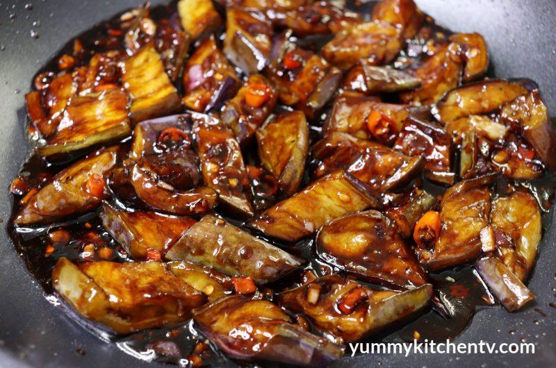 Sweet Spicy Eggplant