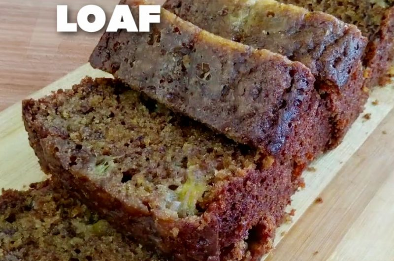 Moist Banana Loaf without Oven