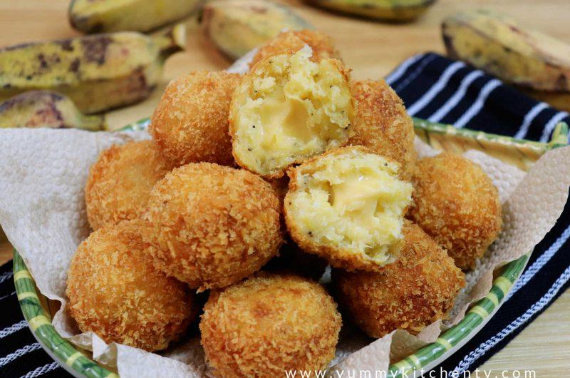 Banana Cheese Balls