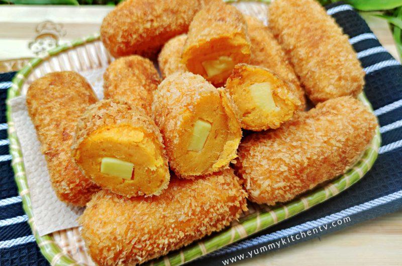 Kamote Cheese Rolls