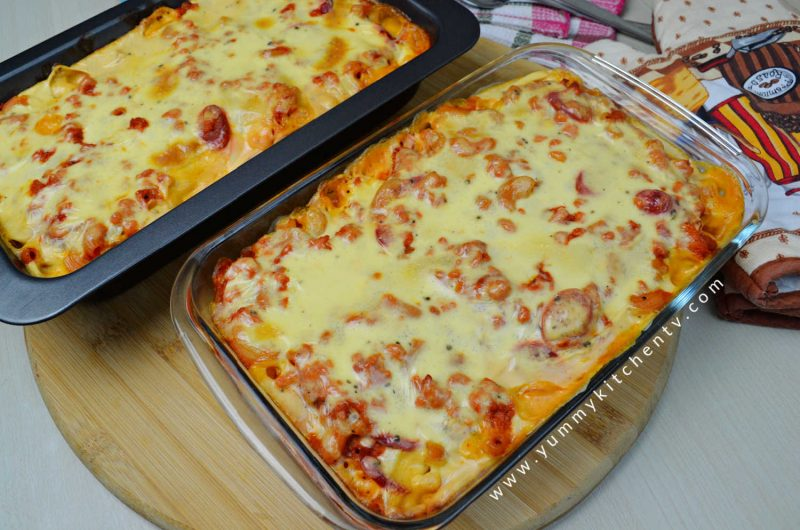 Filipino-style Baked Macaroni