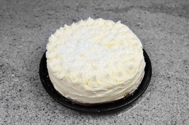 White Chocolate Cheesecake (using 5 ingredients)