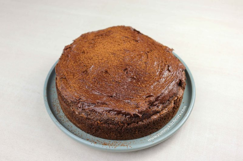Chocolate Cake using Rice & Eggs
