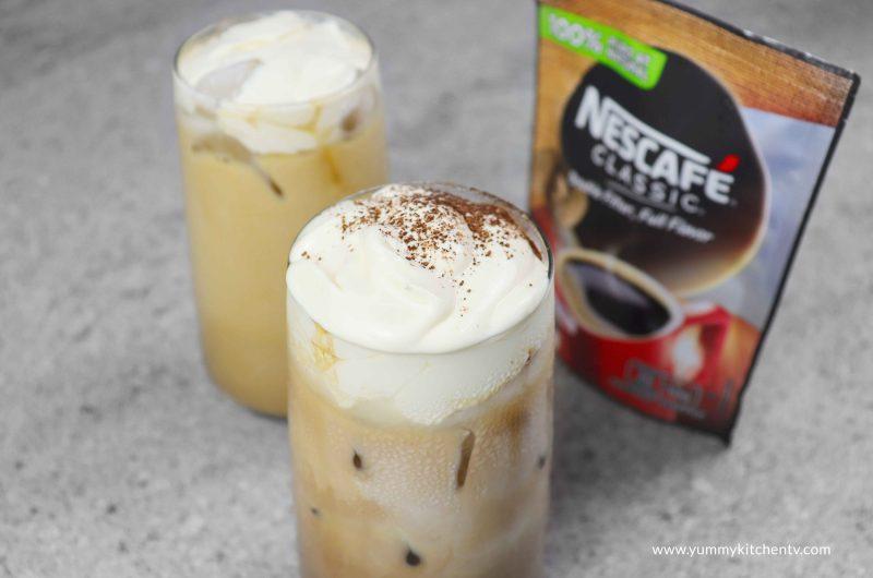 Instant coffee drinks 2 ways
