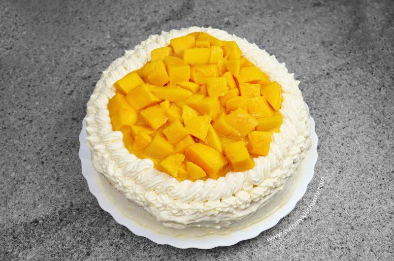 No oven Mango Supreme Cake ala Red Ribbon