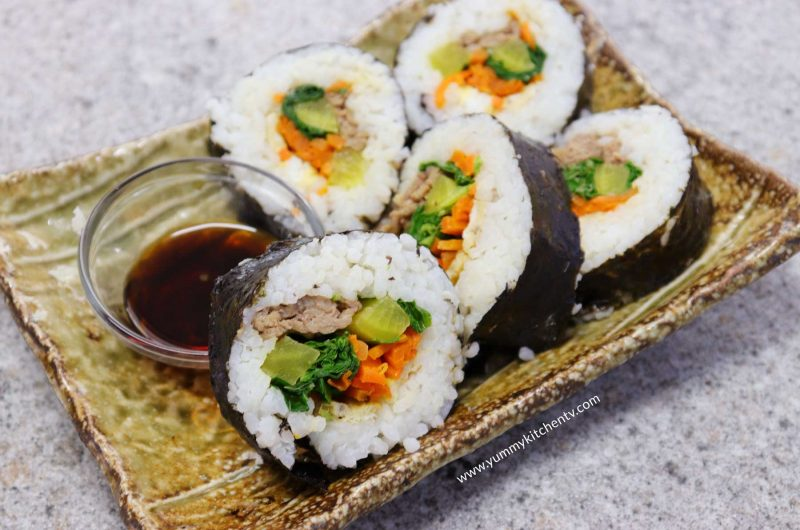 Gimbap (Korean Rice roll)